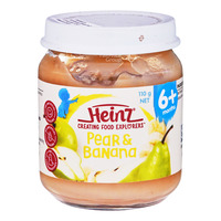 Heinz Baby Food - Pear & Banana (6+ Months)