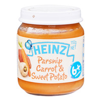 Heinz Baby Food - Parsnip Carrot & Sweet Potato (6+ Months)