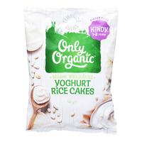 Only Organic Mini Rice Cakes - Yoghurt