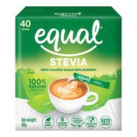 Equal Sweetener Sachets - Stevia (No Calorie)