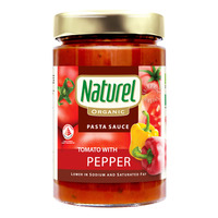 Naturel Organic Pasta Sauce - Tomato with Peppers