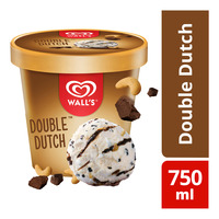 Wall's Selection Ice Cream Tub - Double Dutch