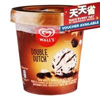 Wall's Selection Ice Cream Tub - Double Dutch