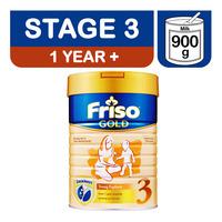 Friso Gold Growing Up Milk Formula - Stage 3 900G