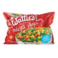 Watties Frozen Mixed Veges