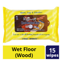 Kleen-Up Wipes - Wet Floor (Wood)
