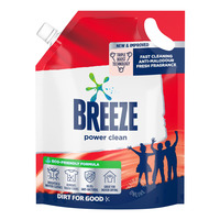 Breeze Liquid Detergent Refill - Power Clean