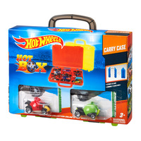 Hot Wheels Hot Box Carry Case + Free 2 Cars