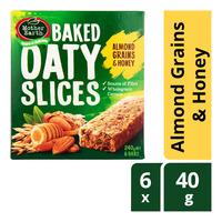 Mother Earth Baked Oaty Slices - Almond Grains & Honey