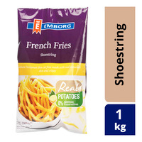 Emborg Frozen French Fries - Shoestring