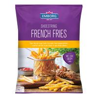 Emborg Frozen French Fries - Shoestring