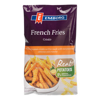 Emborg Frozen French Fries - Crinkle Cut