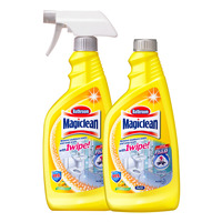 Magiclean Bathroom Cleaner with Refill - Refreshing Lemon