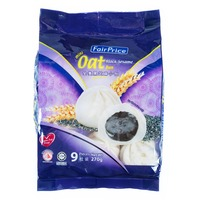FairPrice Frozen Mini Oat Buns - Black Sesame