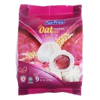 FairPrice Frozen Mini Oat Buns - Red Bean