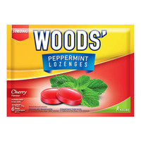 Woods' Peppermint Lozenges - Cherry