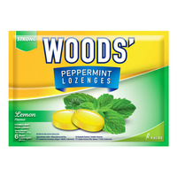 Woods' Peppermint Lozenges - Lemon