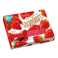 Meiji Chocolate Blocks - Strawberry