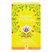 English Tea Shop Organic Tea - Lemongrass Ginger Citrus