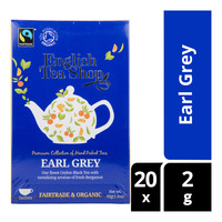 English Tea Shop Organic Tea Sachets - Earl Grey