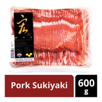 Natural Pork Sukiyaki