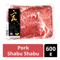 Natural Pork Frozen Shabu Shabu