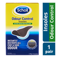 Scholl Insoles - Odour Control