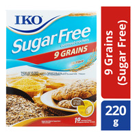 IKO Oat Crackers - 9 Grains (Sugar Free)