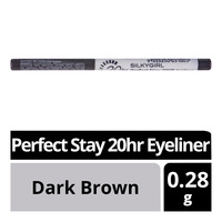 Silkygirl Perfect Stay 20hr Eyeliner - Dark Brown