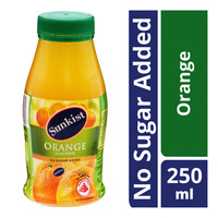 Sunkist Fruit Bottle Juice - Orange (No Sugar Added)