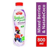 F&N Magnolia Yoghurt Bottle Smoothie - MixedBerries & NatadeCoco