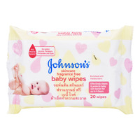 Johnson's Baby Wipes - Fragrance Free