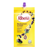 Ribena Blackcurrant Fruit Packet Drink - Lemon