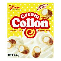 Glico Collon Biscuit Roll -  Cream