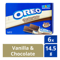 Oreo Chocolate Wafer Sticks - Vanilla & Chocolate