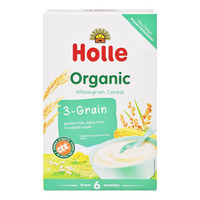 Holle Organic Baby Wholegrain Porridge Cereal - 3-Grain