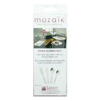 Mozaik Plastic Cutlery Combo Box