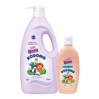 Kodomo Baby Bath Wash - Moisturising + Mild & Natural