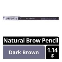 Silkygirl Natural Brow Pencil - Dark Brown