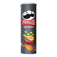 Pringles Potato Crisps - Hot & Spicy