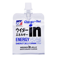 Weider Energy Jelly Packet Drink - White Grape