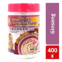 Moon Rabbit Instant Si Sen Brown Rice Powder -Ginseng