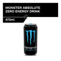 Monster Energy Can Drink - Absolute Zero