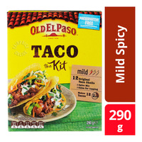 Old El Paso Taco Kit - Mild Spicy