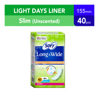 Sofy Long & Wide Pantyliners - Comfort (Unscented)