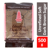 Pagoda Unrefined Soft Dark Brown Sugar
