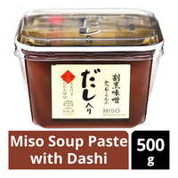 Soon Miso Soup Paste with Dashi