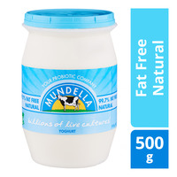 Mundella Yoghurt - Fat Free Natural