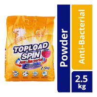 Topload Spin Detergent Powder - Anti-Bacterial (Indoor Drying)