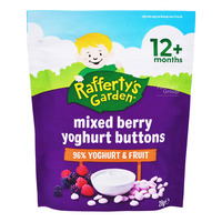 Rafferty's Garden Baby Yoghurt Buttons - Mixed Berries